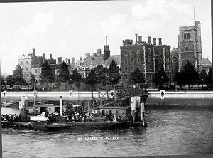 (09220) Postcard - London Lambeth Palace around 1870-1900