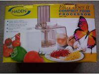 Haden Compact Food Processor (New)