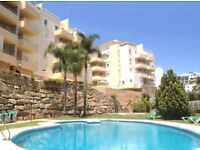 WINTER IN THE COSTA DEL SOL between La Cala & Marbella – Beautiful 2 bed Apt - Fantastic Sea Views!