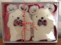 SquareBear Hand Warmers NEW/Boxed