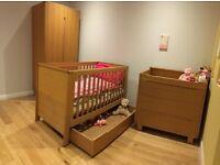 Solid Oak Mikado - Mamas and Papas Nursery Furniture