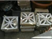 Decrative blocks