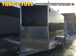 2018 Canadian Trailer Company 7X14 V-Nose Cargo Trailer