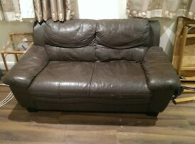 2 Two Seater Sofas Free to a Good Home