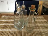 Olive oil/dressing set – very good condition