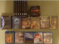 Wholesale Job Lot of David Attenborough Nature Docummentary DVDs + Blu-Rays