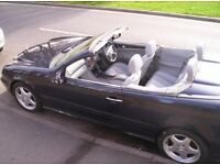 REDUCED FOR QUICK SALE. MERCEDES CLK 320 AMG SPORTS CONVERTIBLE>