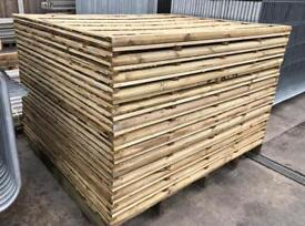 🐌 Waneylap Pressure Treated High Quality Wooden Garden Fence Panels