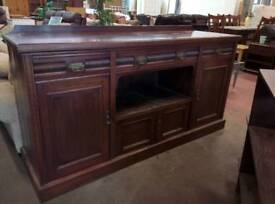 Solid hardwood sideboard