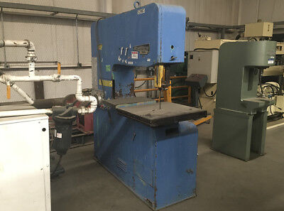 Startrite 316 H Vertical Band Saw Capacity 18 X 26 Blade Size 144 X 1