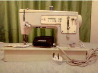 ELECTRIC SINGER SEWING MACHINE, MODEL 447