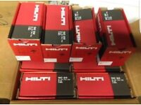 Hilti GX120 shots 27mm with gas