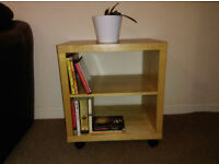 Book Shelf Bookcase Storage Display Unit Wooden Unit Solid Wood Side Table