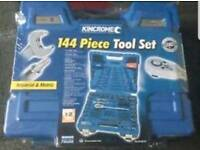 Kincrome 144 piece socket set