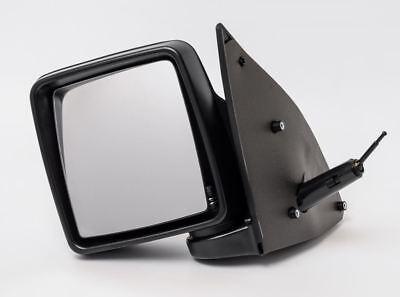 VAUXHALL COMBO MK2 2001   2012 DOOR WING MIRROR MANUAL BLACK LEFT PASSENGER NS