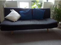 Maison Du Monde Sofa Bed, colour: Anthracite Grey