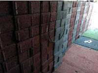 Unused 1500 block paving bricks