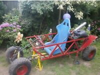 Off road buggy project. All of the main parts to build an off road buggy.