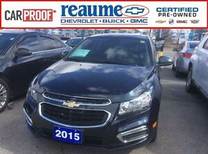 2015 Chevrolet Cruze 2LT Leather Sunroof Remote Starter