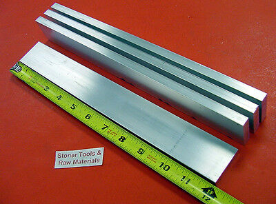 4 Pieces 38 X 1-12 Aluminum 6061 Flat Bar 12 Long T6 .375 Solid Mill Stock