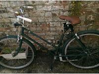 Classic 1950's bike, refurbished