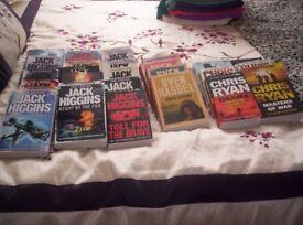 40 War/Thriller Novels