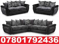 LARGE DFS SHANNON CORNER/3+2 SOFA REFLEX FOAM SEAT CUSHIONS 0179
