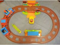Early Learning Centre, Happyland Village Train Set, Battery Powered Train, Track and Figures