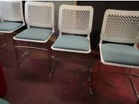 High quality designer office chairs X 4 available