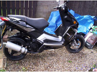 sinnis eagle 124cc scooter