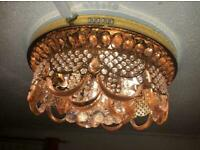 Gold antique Chandelier