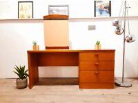 Stag Cantata Mid Century Medium Teak Retro Dressing Table / Desk / Sideboard #315