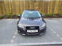 AUDI A3 SPORT TDI GREY 1 OWNER SERVICE HISTORY VERY NICE LOOKING CAR 20£ ROAD TAX LONG MOT