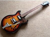 60`s Audition archtop vintage semi-acoustic guitar
