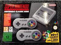 SNES Mini Classic Console Super Nintendo