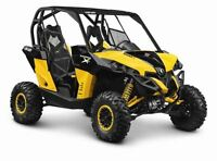 2015 Can-Am Maverick 1000R X RS DPS $51.87/wk (120 months @ 7.99