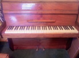Free to a good home a Zender upright piano, 6 octaves, piano students of all ages