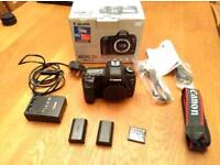 Canon 5D Mk2, Original Box & Accessories, 2 Batteries, CF to SD adapter