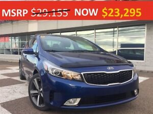 2017 Kia Forte SX - $4300 off MSRP - only 2 left!!!