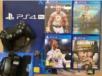 Sony PlayStation 4 Bundle with God of War + FIFA 2018 + UFC 3 + Call of Duty WW2