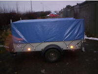 Ifor Williams trailer P7E