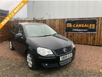 2009 09 VOLKSWAGEN POLO 1.2 MATCH 5d 59 BHP***GUARANTEED FINANCE***PART EX WELCOME***