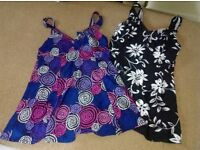 2 swim dresses size 16