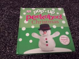 Christmas pop up book