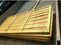 Fencing panels 18.00 each