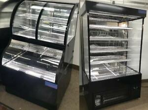OPEN AIR REFRIGERATED MERCHANDISER / GRAB N GO / DOUBLE SERVICE FRIDGE / COMBINATION DISPLAY CASE / DUAL SERVICE COOLER