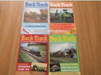 Back Track Railway Magazine Volume 1 Set of 4 Issues