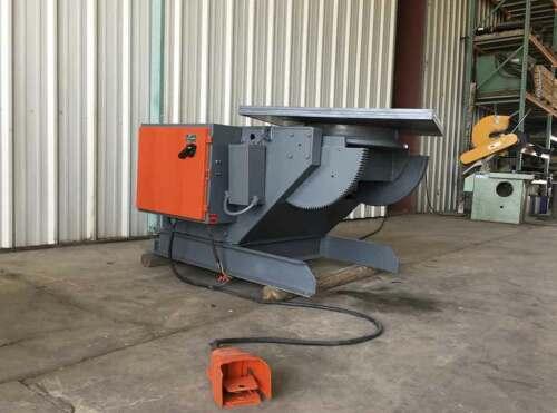 Aronson HD30B welding positioner, Capacity: 3,000 lbs
