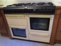 Belling Country Chef 100cm Dual Fuel Range Cooker, Cream, £150 ONO