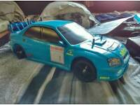 Subaru impreza rc rally car